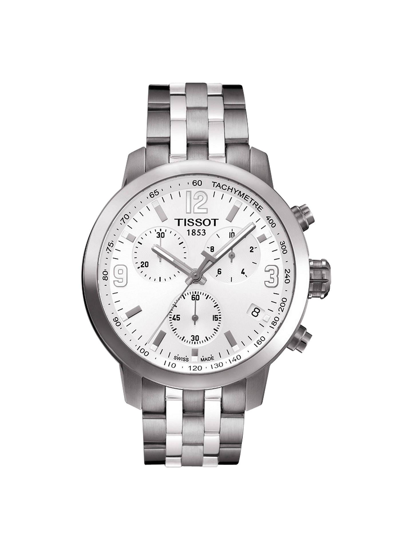BuyTissot T0554171101700 Men s PRC 200 Chronograph Date Bracelet Strap  Watch 8983a64e250