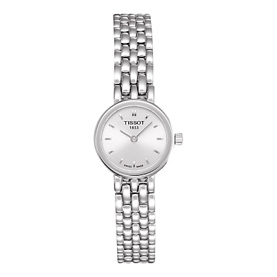 Tissot T0580091103100 Women's Lovely Bracelet Strap Watch, Silver