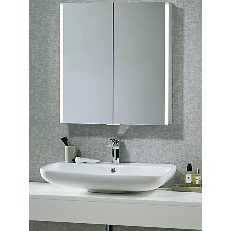 john lewis bathroom cabinet buy lewis led trace illuminated bathroom 18944