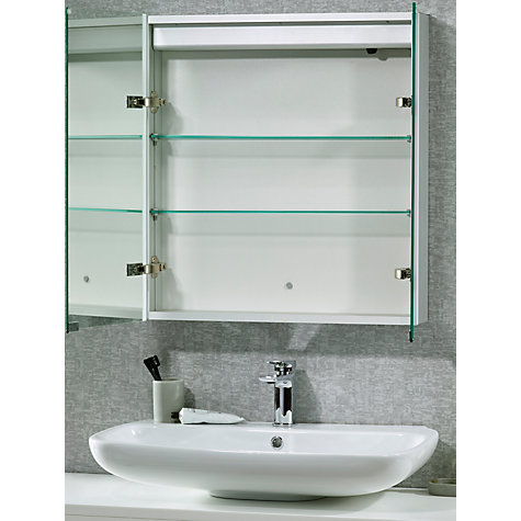 john lewis bathroom cabinets buy lewis led trace illuminated bathroom 18030
