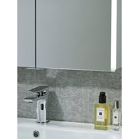 buy john lewis led trace double illuminated bathroom cabinet online at johnlewiscom