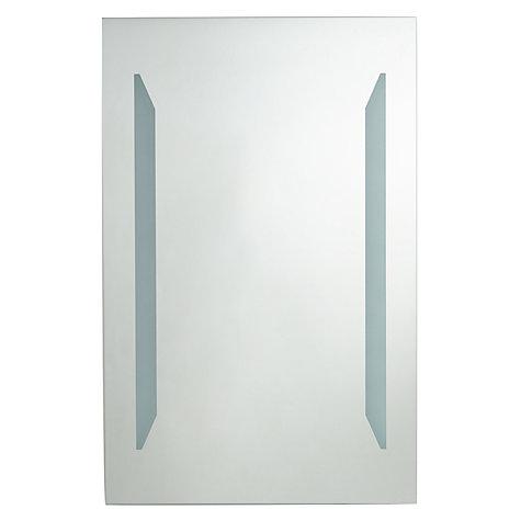 Bathroom Mirror John Lewis buy john lewis led frost illuminated bathroom mirror | john lewis