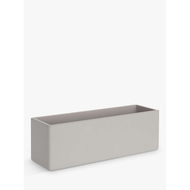 Storage Boxes Bathroom: House By John Lewis Bathroom Storage Box, Blue Grey At