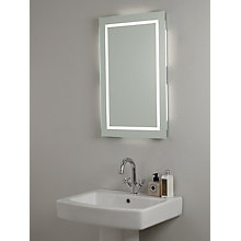 Buy John Lewis LED Frame Illuminated Bathroom Mirror Online at johnlewis.com