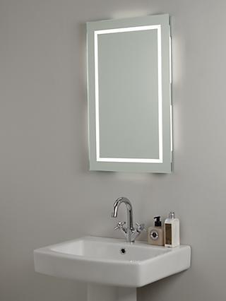 John Lewis & Partners LED Frame Illuminated Bathroom Mirror