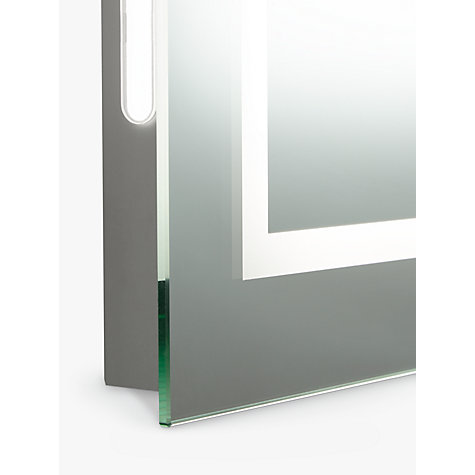 Bathroom Mirror Lights John Lewis buy john lewis led frame illuminated bathroom mirror | john lewis