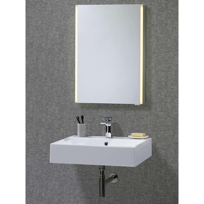 John Lewis LED Trace Illuminated Bathroom Cabinet At John Lewis