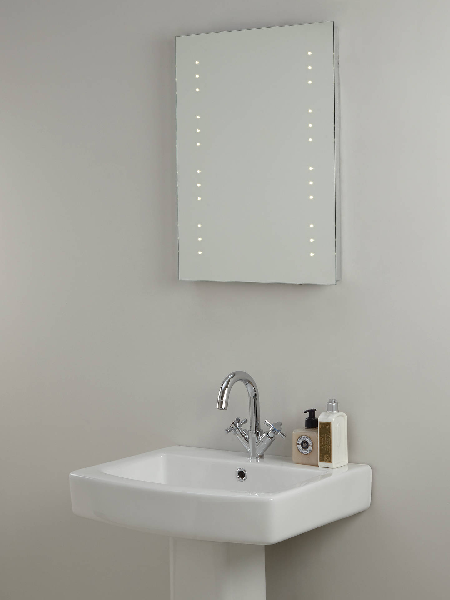 john lewis partners led starlight illuminated bathroom. Black Bedroom Furniture Sets. Home Design Ideas