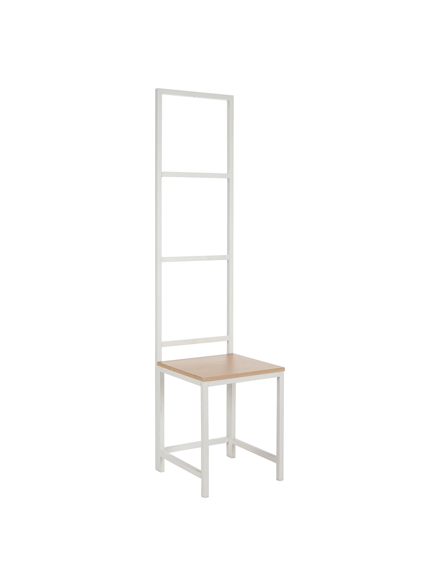 house by john lewis ratio towel ladder and chair at john. Black Bedroom Furniture Sets. Home Design Ideas