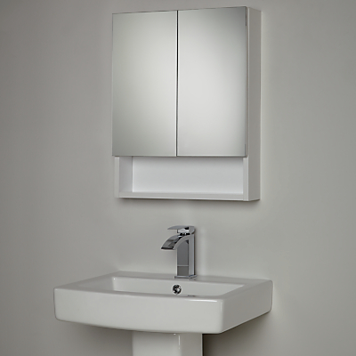 House by John Lewis Equate Mirrored Bathroom Cabinet