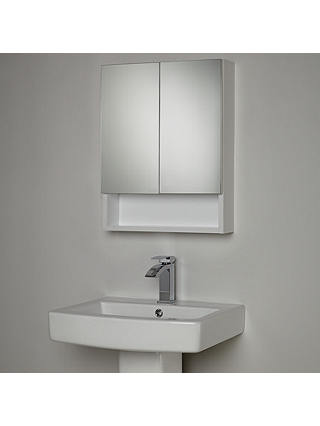 House By John Lewis Equate Mirrored Bathroom Cabinet At John Lewis Partners