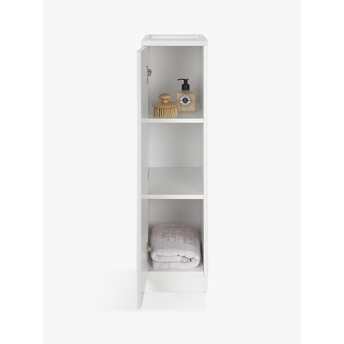... Buy House By John Lewis Equate Bathroom Cupboard, Tall Online At  Johnlewis.com ...