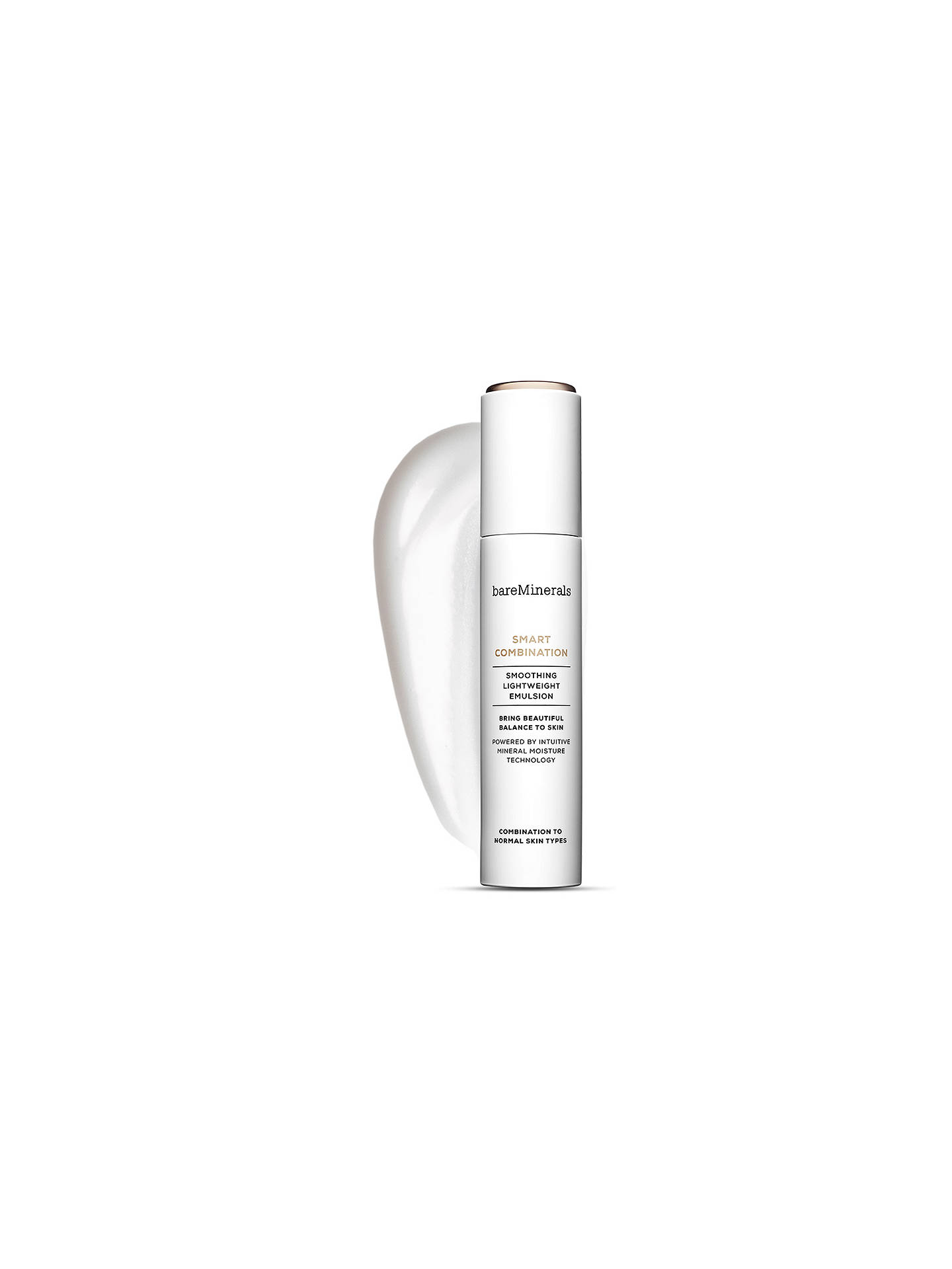 Buy bareMinerals Smart Combination Smoothing Lightweight Emulsion, 50ml Online at johnlewis.com