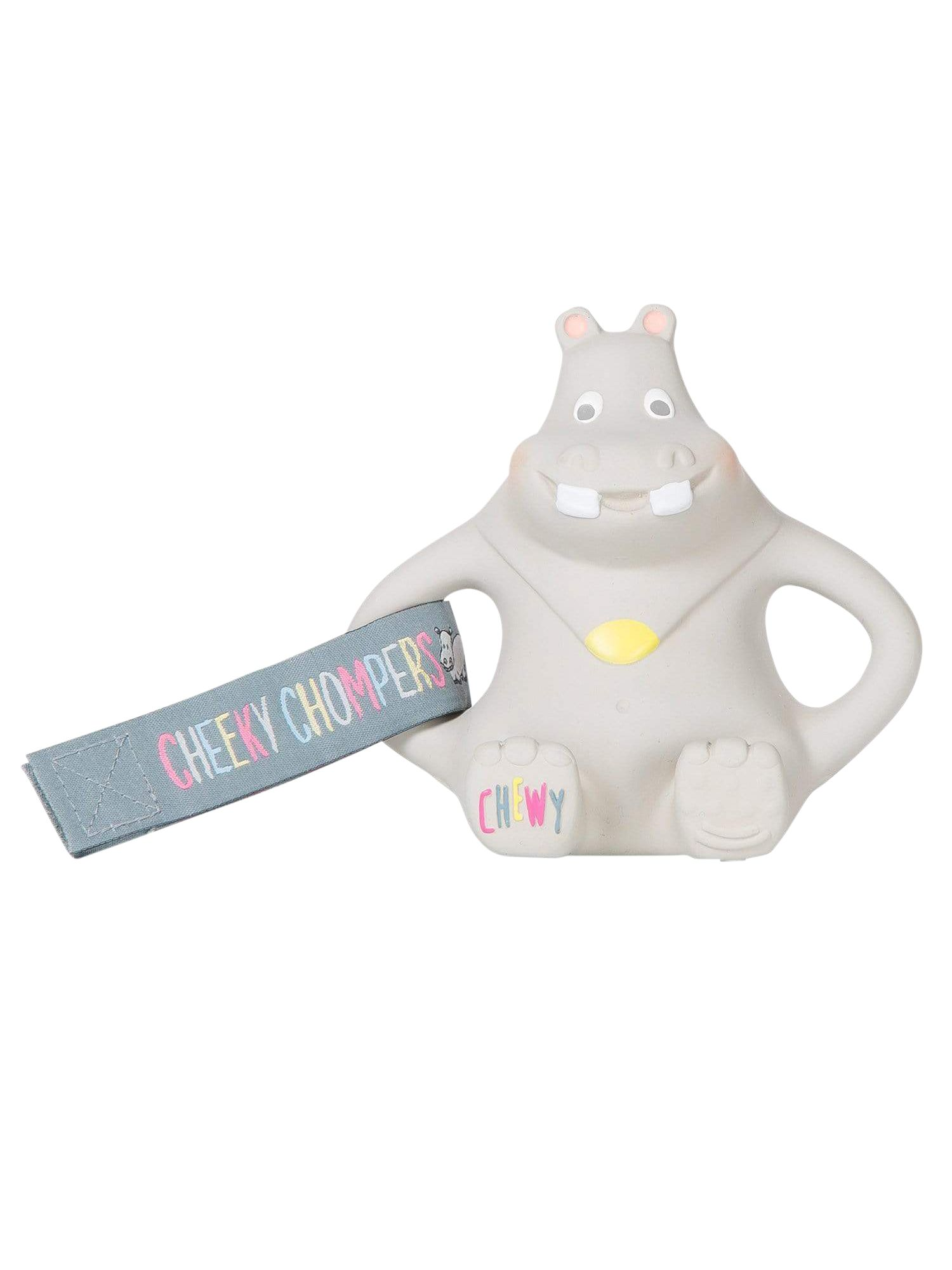 Cheeky Chompers Cheeky Chompers Chewy Hippo Teether