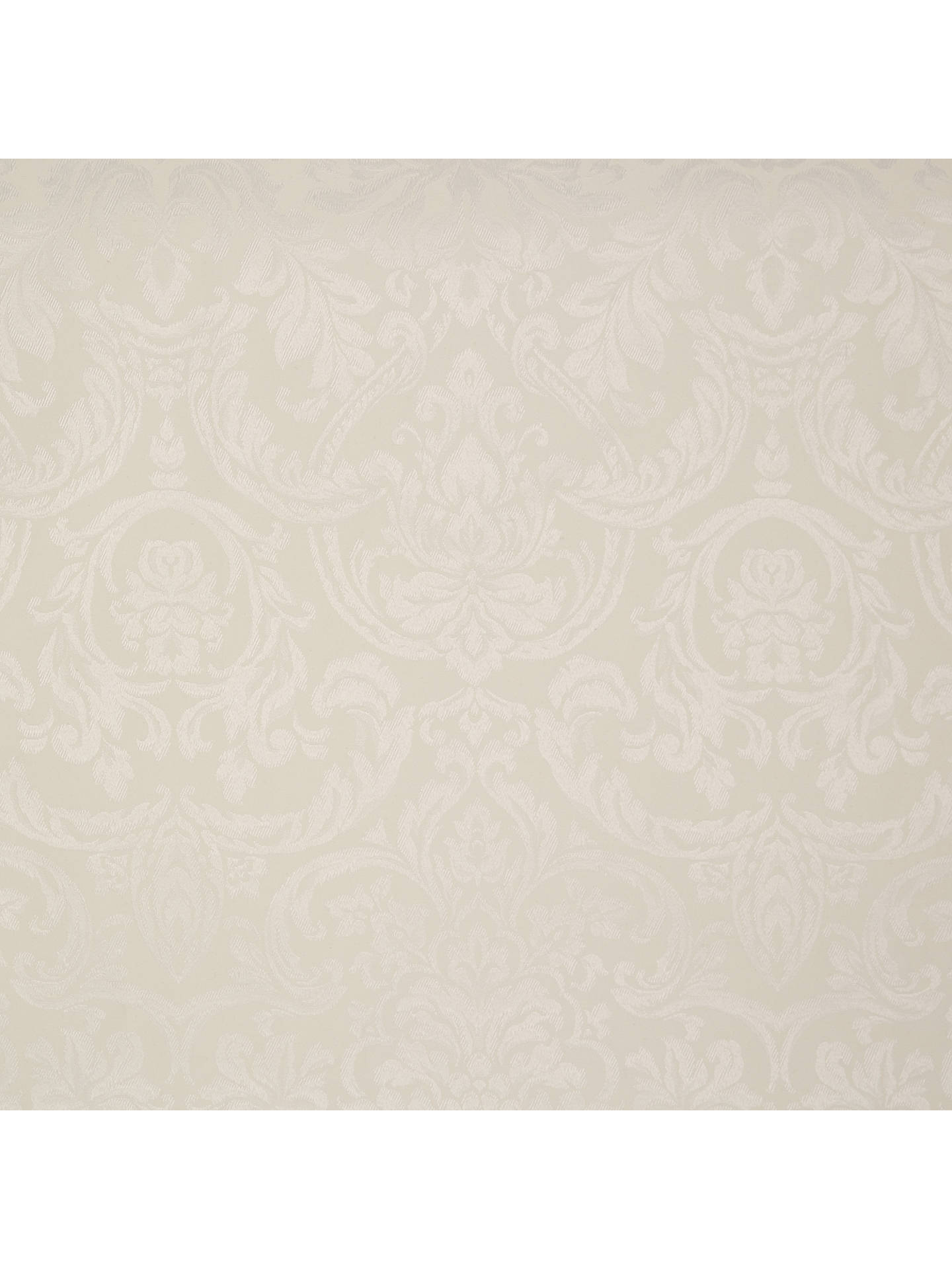 BuyJohn Lewis & Partners Damask Weave Acrylic Coated Tablecloth Fabric, Oyster Online at johnlewis.com