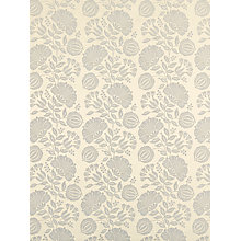 Buy Genevieve Bennett for John Lewis Persian Thistle Furnishing Fabric, Silver Online at johnlewis.com