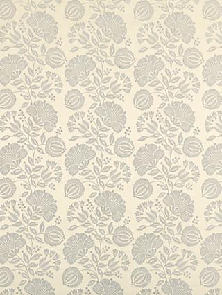 Genevieve Bennett for John Lewis & Partners Persian Thistle Furnishing Fabric, Silver