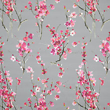 Buy Voyage Seville Blossom Furnishing Fabric, Slate Online at johnlewis.com
