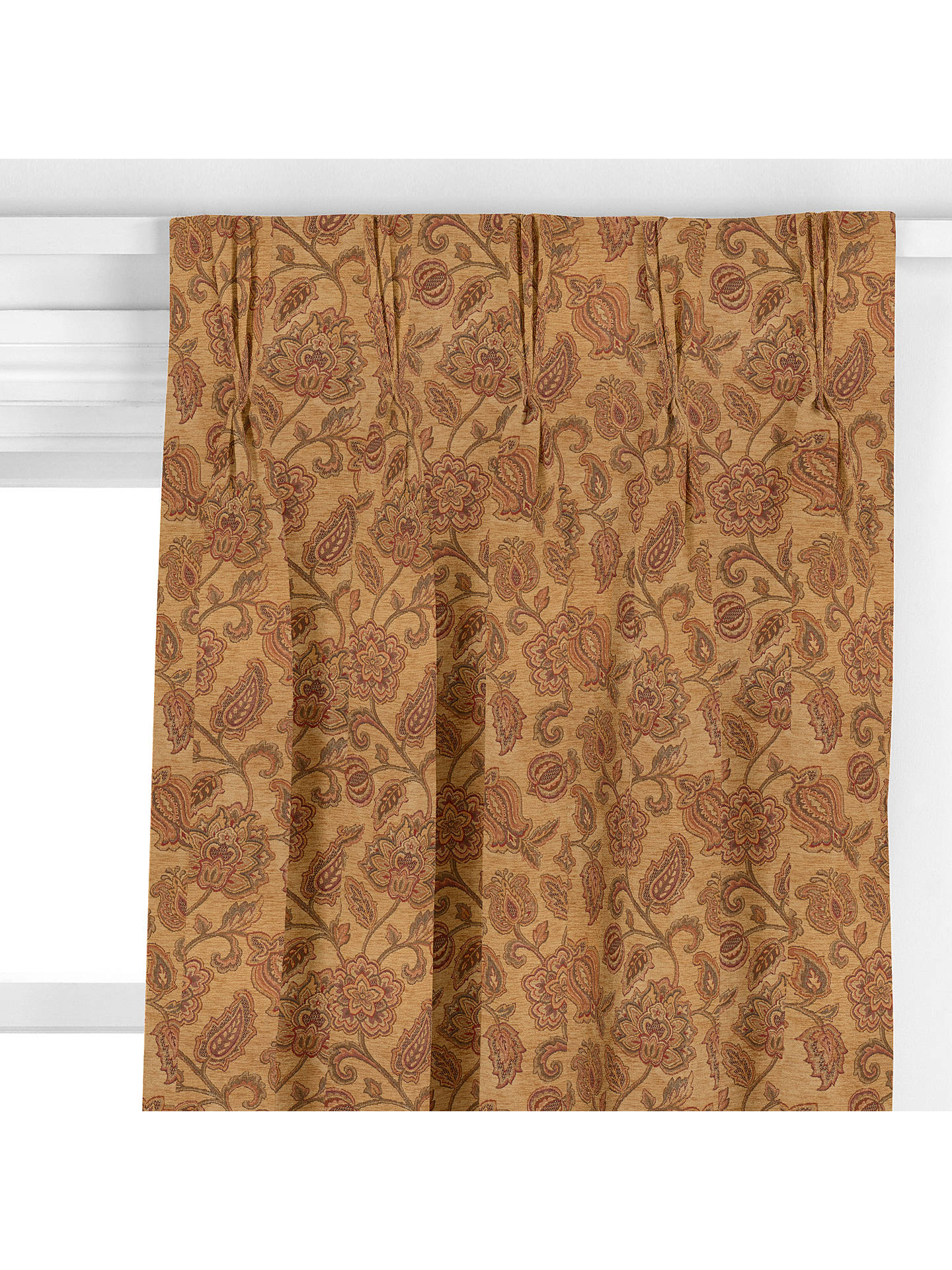 BuyJohn Lewis & Partners Dainesfield Curtain, Gold Online at johnlewis.com