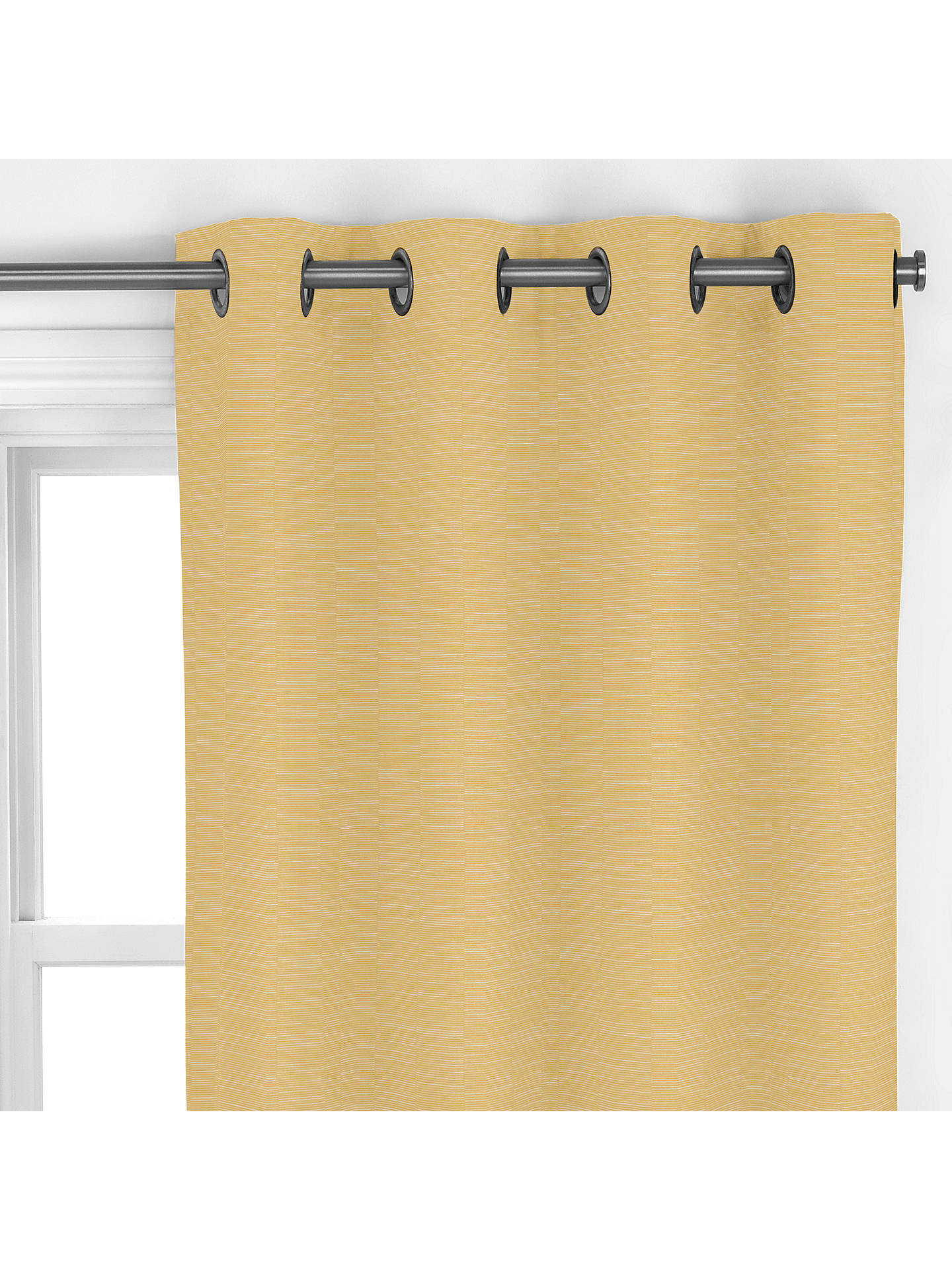 Buy John Lewis & Partners Peyto Made to Measure Curtains, Saffron Online at johnlewis.com