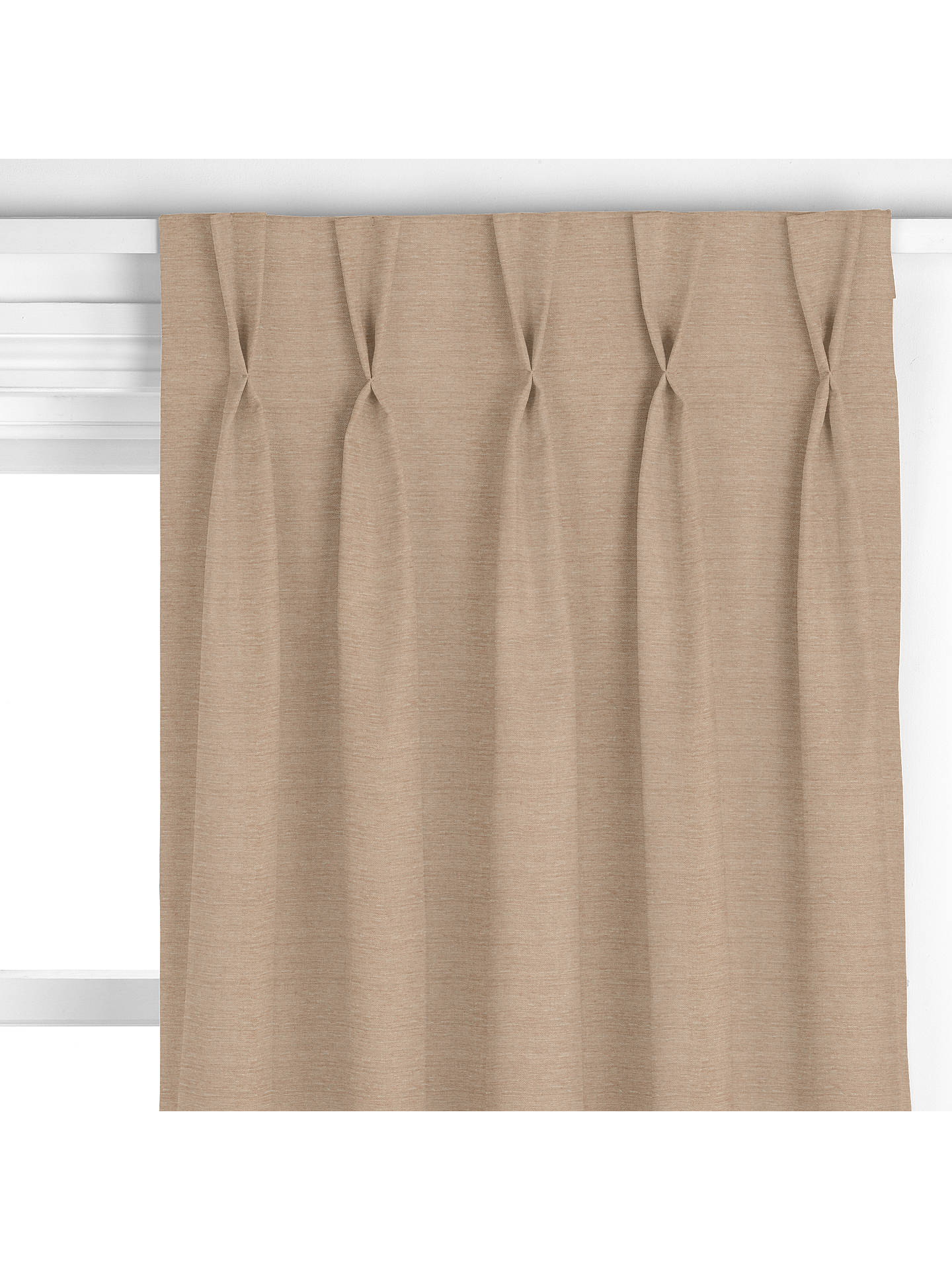 BuyJohn Lewis & Partners Edessa Curtain, Mocha Online at johnlewis.com