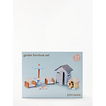 Buy John Lewis Doll's House Garden Furniture Set Online at johnlewis.com