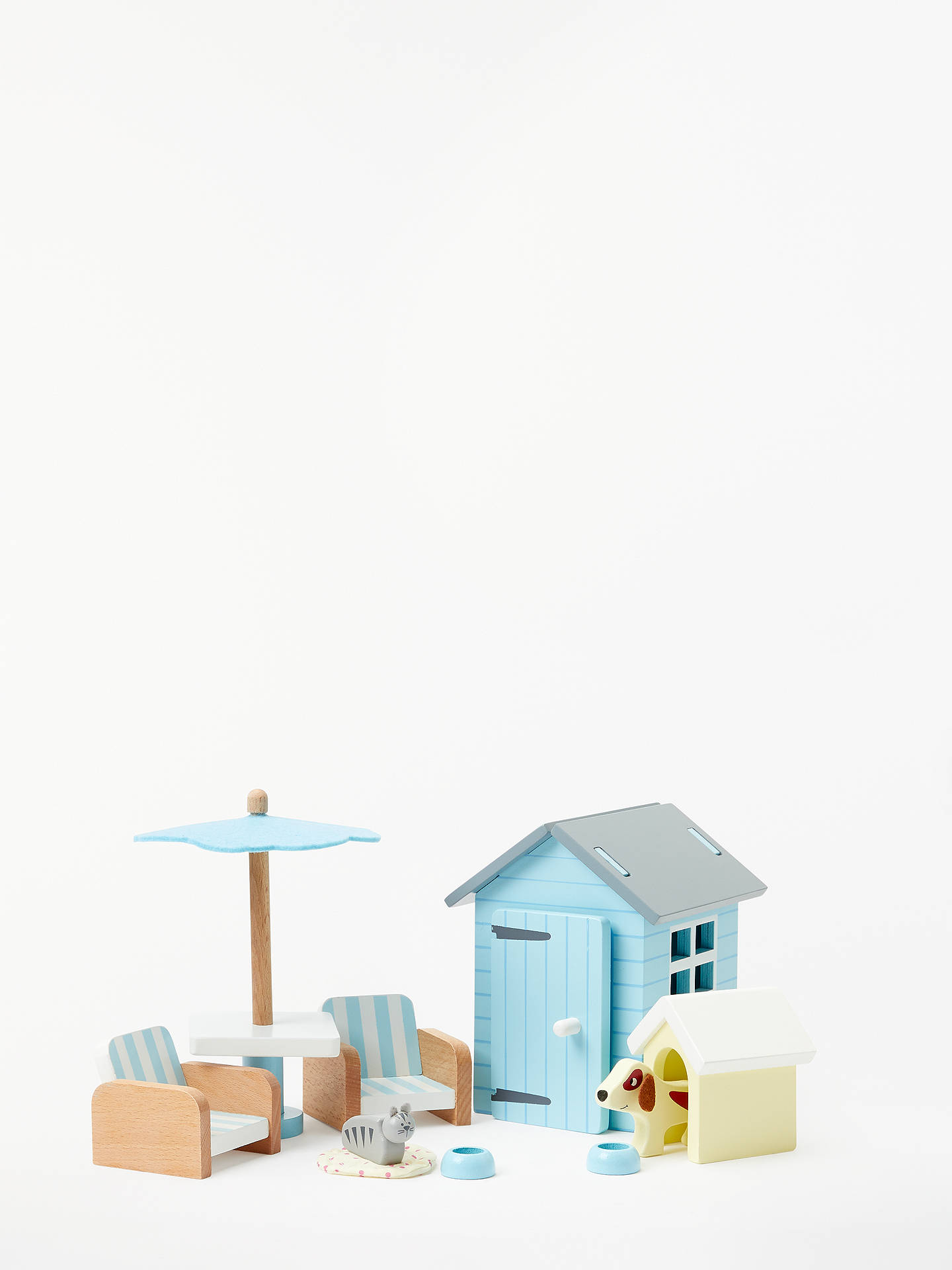 BuyJohn Lewis & Partners Doll's House Garden Furniture Set Online at johnlewis.com