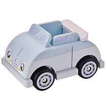Buy John Lewis Doll's House Blue Car Online at johnlewis.com
