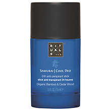Buy Rituals Samurai Anti-Perspirant Stick, 75ml Online at johnlewis.com