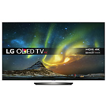 "Buy LG OLED65B6V OLED HDR 4K Ultra HD Smart TV, 65"" with Freeview HD/Freesat HD, Harmon Kardon Sound & Blade Slim Design, UHD Premium Online at johnlewis.com"