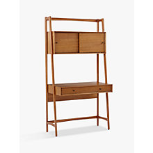 Buy west elm Mid-Century Wall Desk Online at johnlewis.com