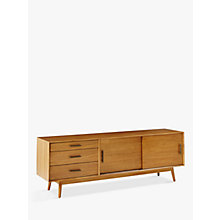 Buy west elm Mid-Century 203cm Media Console Online at johnlewis.com
