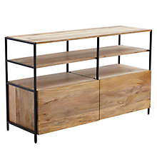 Buy west elm Industrial Modular 124cm Media Unit Online at johnlewis.com