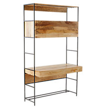 "Buy west elm Industrial Modular 49"" Desk Online at johnlewis.com"
