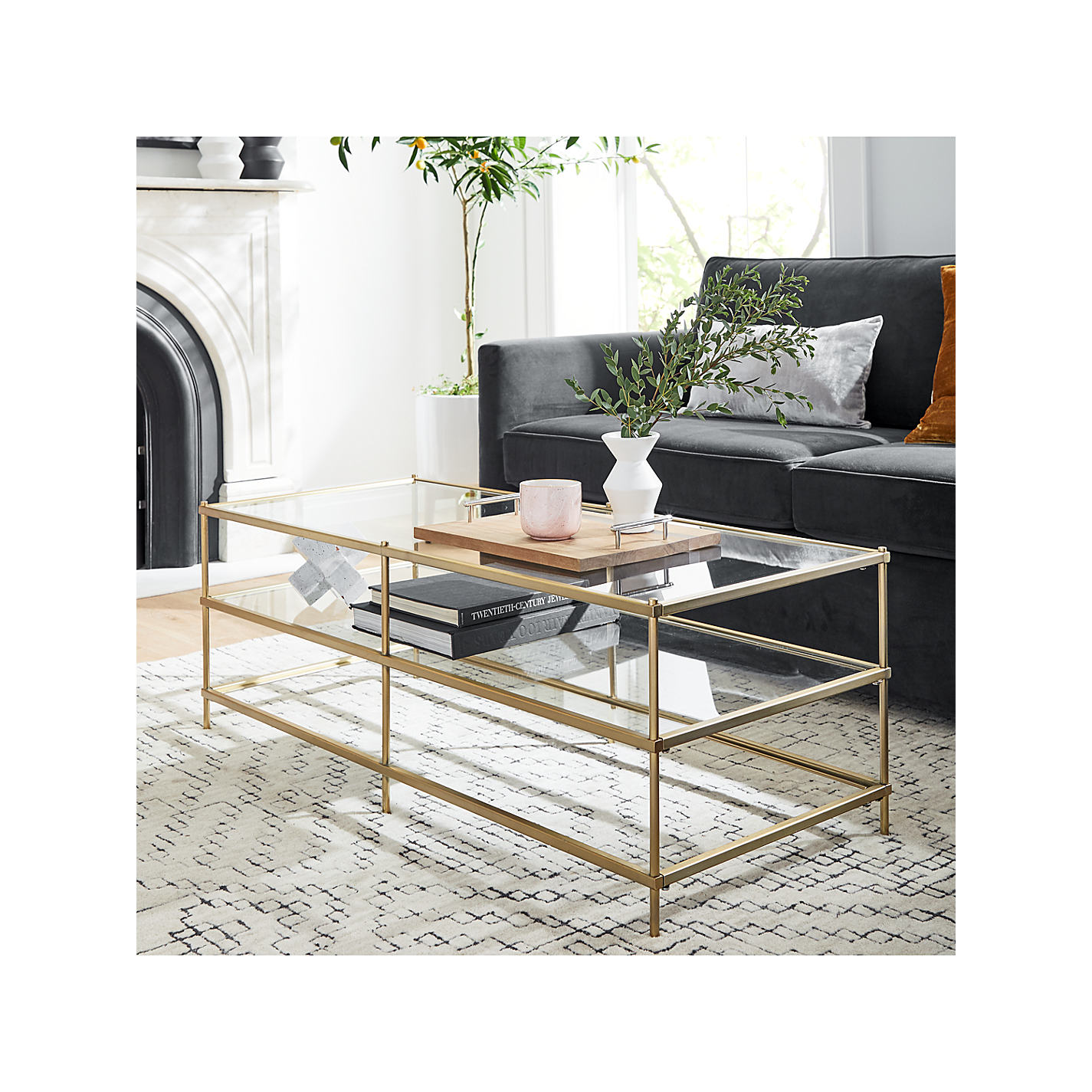 Buy West Elm Terrace Coffee Table Online At Johnlewis