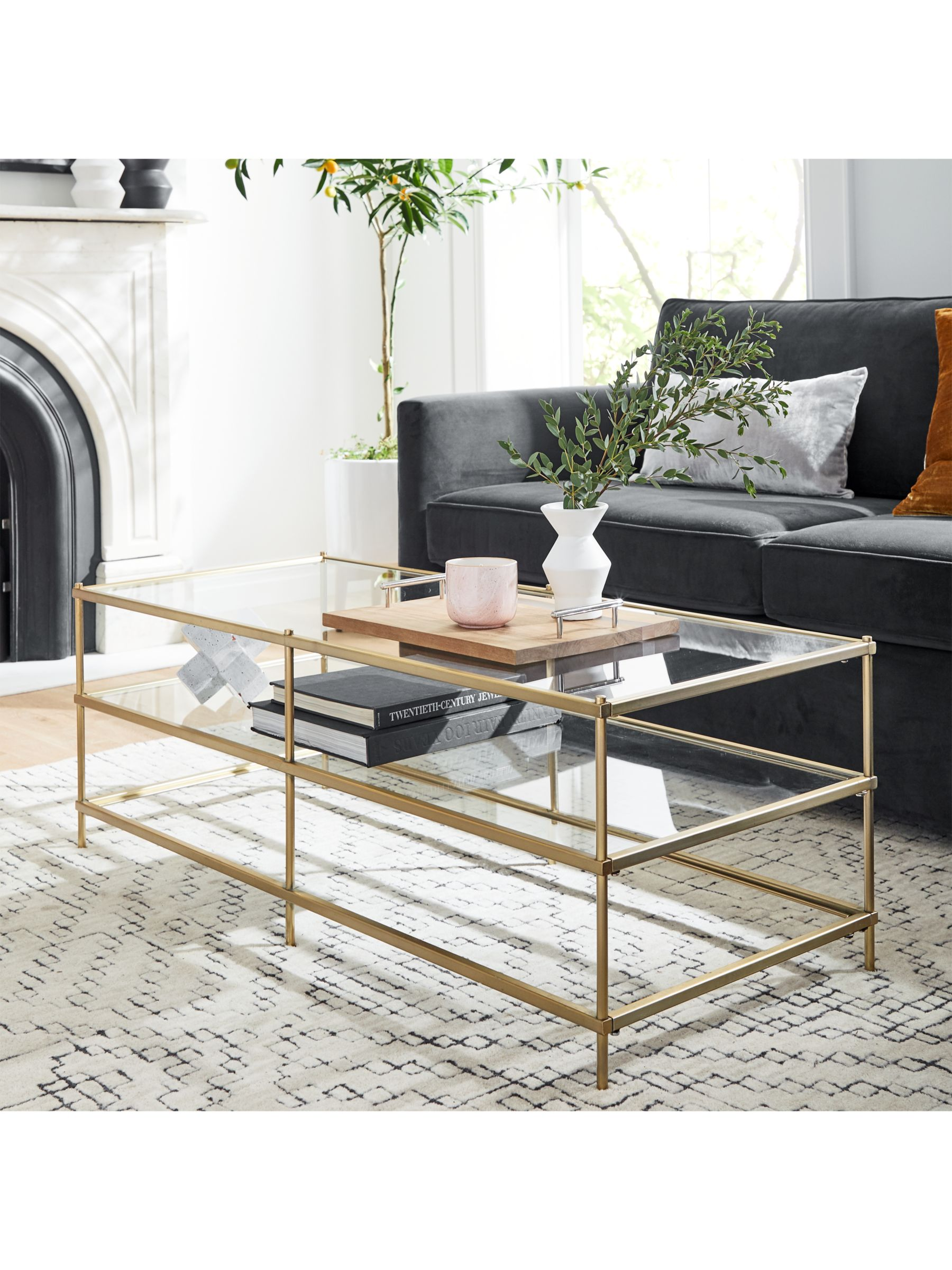 West Elm Terrace Coffee Table At John Lewis Partners