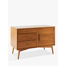 Buy west elm Mid-Century Small Sideboard Online at johnlewis.com