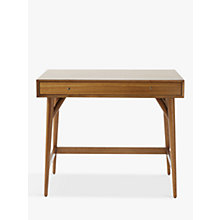 Buy west elm Mid-Century Mini Desk, Acorn Online at johnlewis.com