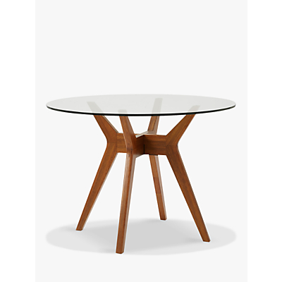 west elm Jensen 4 Seater Round Dining Table