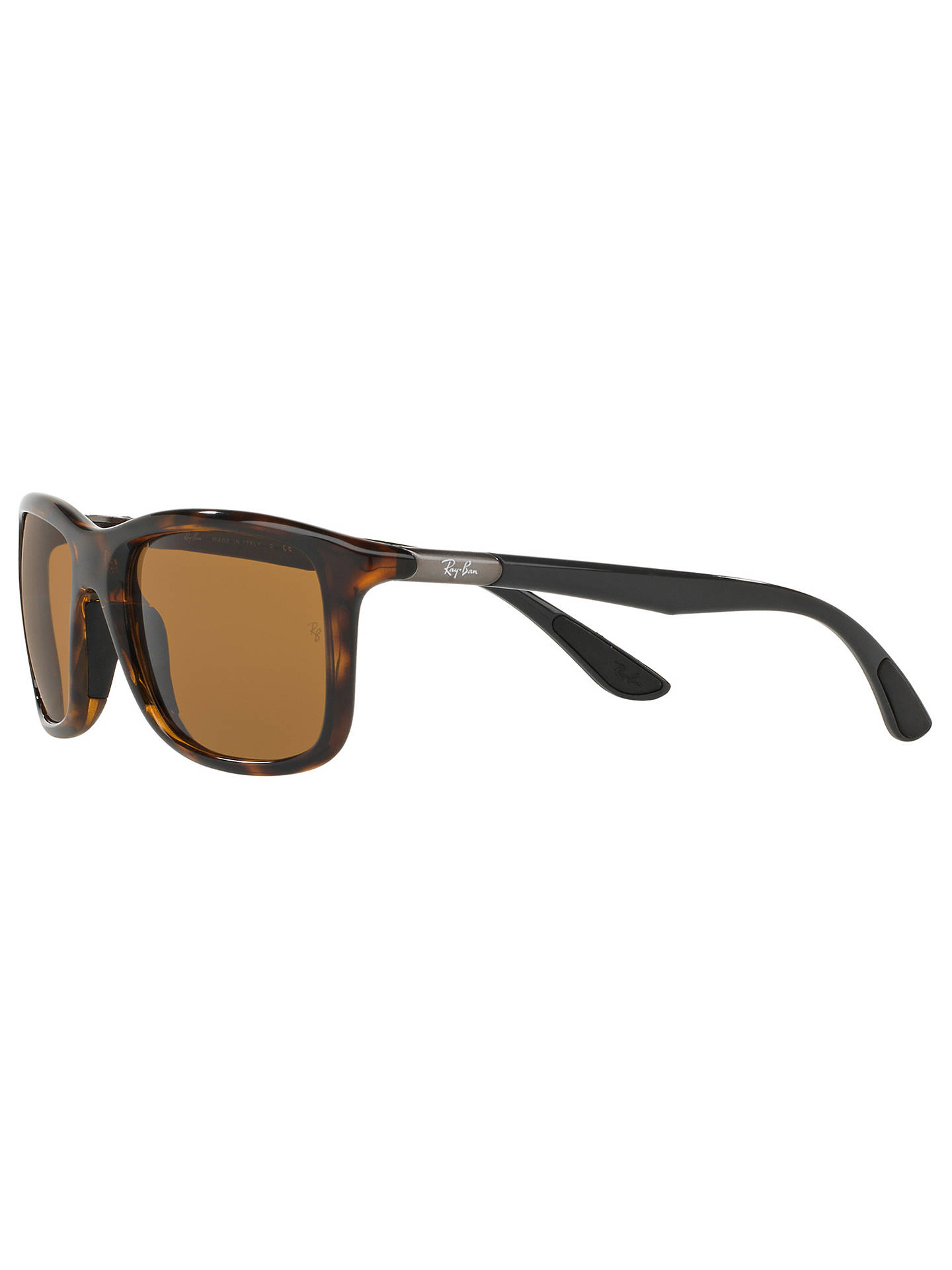 a3e4704cdef Ray-Ban RB8352 Polarised Square Sunglasses at John Lewis   Partners