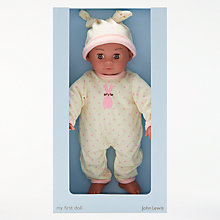 Buy John Lewis My First Doll Newborn Baby Girl Online at johnlewis.com