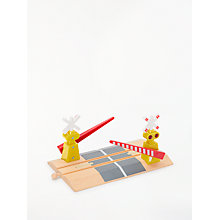 Buy John Lewis Train Set Level Crossing Online at johnlewis.com