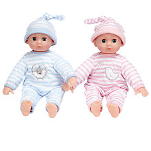 Buy John Lewis Squeezable Baby Twin Dolls Online at johnlewis.com