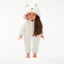 Buy John Lewis Collector's Doll Onesie Outfit Online at johnlewis.com