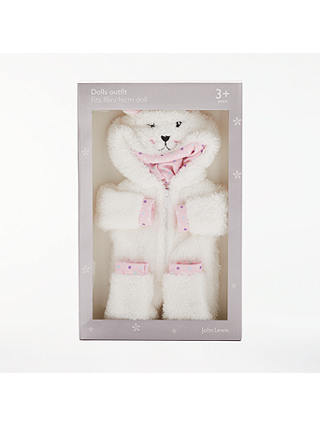 Buy John Lewis & Partners Collector's Doll Onesie Outfit Online at johnlewis.com