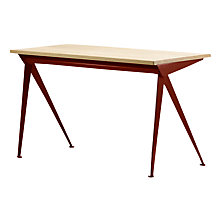 Buy Vitra Compas Direction Oak Desk Online at johnlewis.com