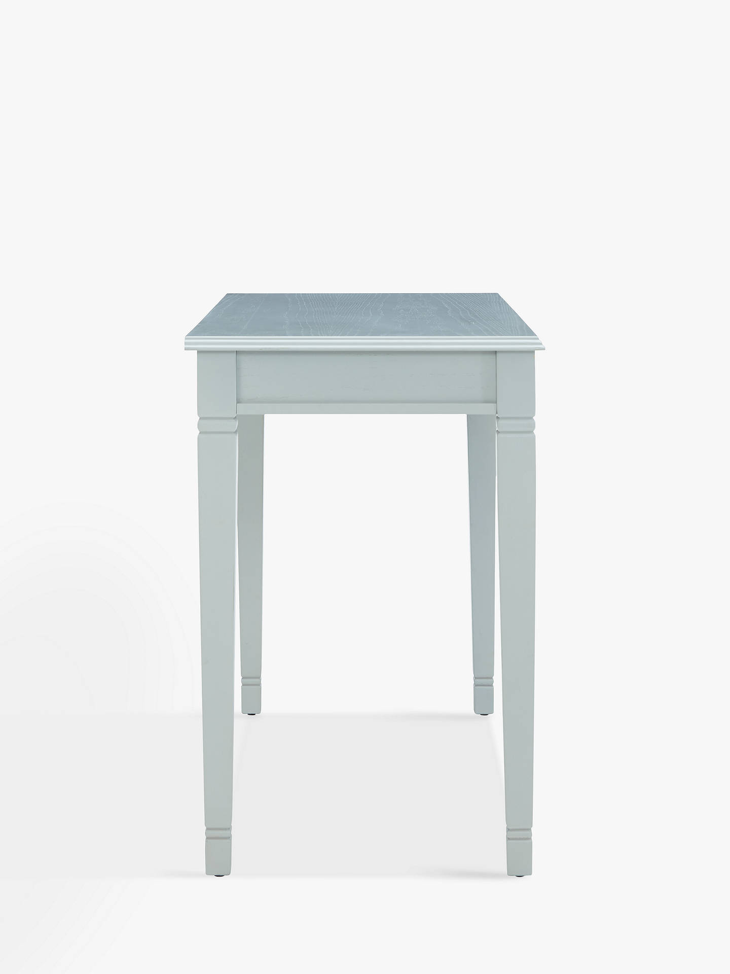 BuyJohn Lewis Hamilton Simple Desk, Soft Grey Online at johnlewis.com