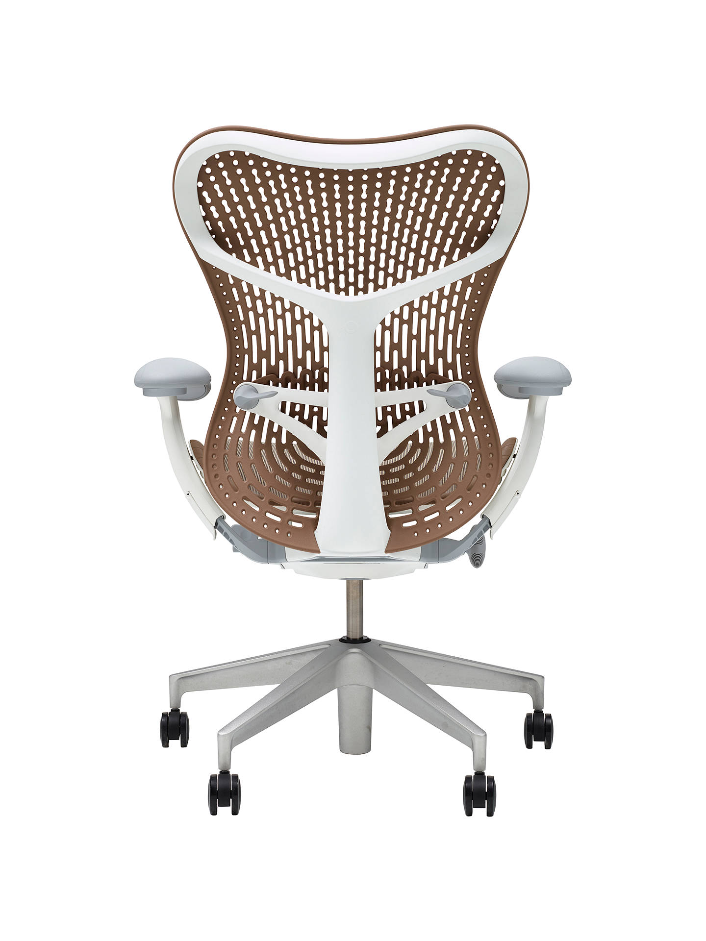 Buy Herman Miller Mirra 2 Triflex Office Chair, Cappuccino Online at johnlewis.com