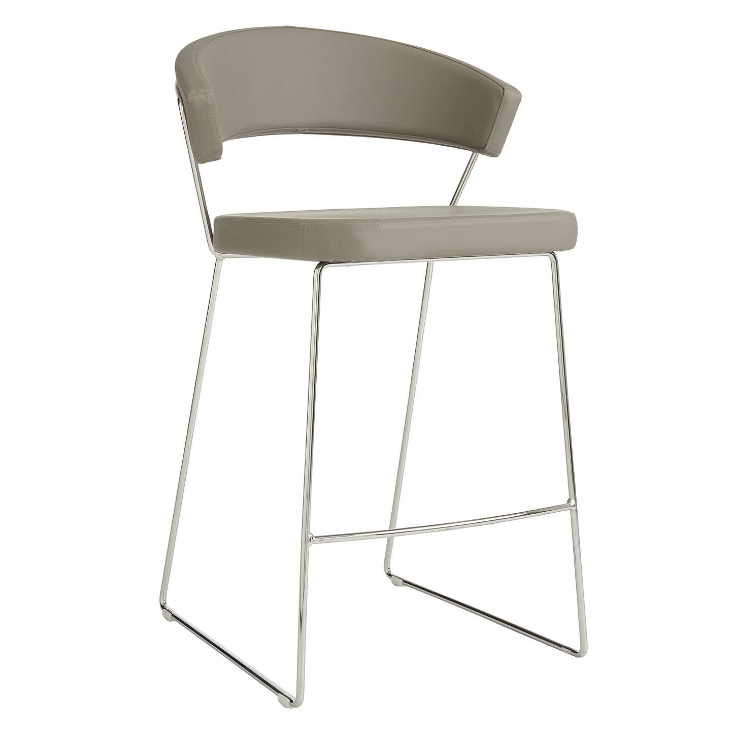Connubia by Calligaris New York Bar Chair at John Lewis