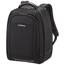 "Buy Samsonite Pro DLX 16"" Laptop Backpack, Black Online at johnlewis.com"